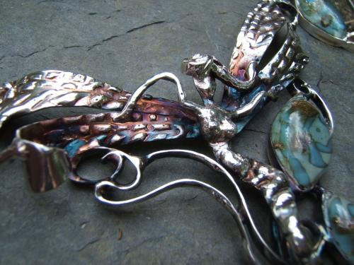 collier fée: détail